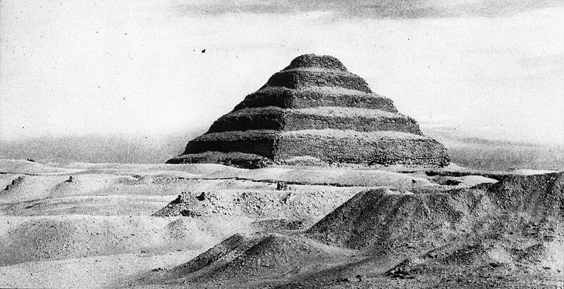 File:Djoser Pyramid - 1900.jpg