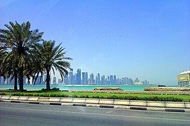 Doha corniche view (2)