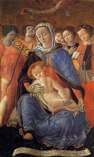 Domenico di Bartolo - Domenico di Bartolo - Madonna of Humility