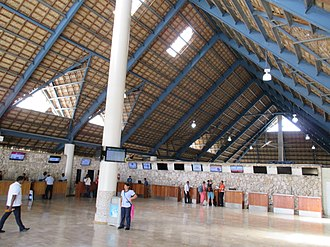 Punta Cana International Airport - Check-in area
