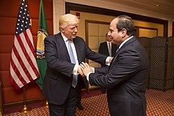 האם אימו של סיסי יהודיה ? האם יש לה קרובי משפחה בישראל THE JEWISH MOTHER OF THE PRESIDENT OF EGYPT AL SISI 250px-Donald_Trump_greets_the_President_of_Egypt%2C_Abdel_Fattah_Al_Sisi%2C_May_2017