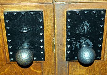 Doorknobs at Glen Eyrie castle in Colorado Springs.jpg