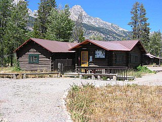 Double Diamond Dude Ranch Dining Hall United States historic place