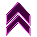 Double arrow magenta neon up.png