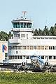 Douglas DC-3 historiallisella Helsinki-Malmin lentoasemalla.jpg