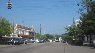 Winnfield, Louisiana - Downtown Winnfield