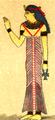 Dräkt, Egyptisk drottning, Nordisk familjebok.png