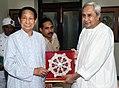 Dr. SC Jamir with Naveen Patnaik 02.jpg