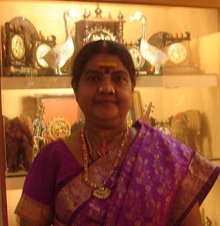 Vijayalakshmi Navaneethakrishnan Indian Tamil folk musician
