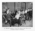 Dr Weir Mitchell examining Civil War veteran Wellcome L0027931.jpg