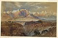 Drawing, Cliffs of the Rio Virgin, South Utah, 1873 (CH 18189539).jpg