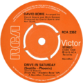 Drive-In Saturday by David Bowie UK vinyl single.png