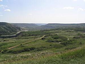 Red Deer River - Image: Dry Island Provincial Park 2