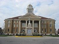 Dubois County Courthouse in Jasper from east.jpg
