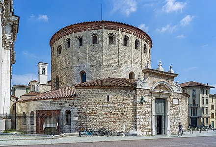 "The 11th century ""Old Cathedral"" of Brescia."