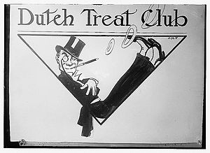 Dutch Treat Club - Image: Dutch Treat Club 859538d 5e 3