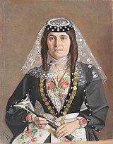 Portrait of Mariam Shalamain