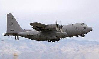 Lockheed EC-130H Compass Call - An EC-130H Compass Call departs Davis-Monthan AFB