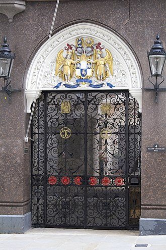 Worshipful Company of Tallow Chandlers - Entrance to Tallow Chandlers' Hall