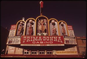 The Montage Reno - The Primadonna in May 1973