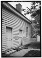 ENTRANCE FACADE - Appomattox Manor, Kitchen, Cedar Lane, Hopewell, Hopewell, VA HABS VA,75-HOPE,1A-1.tif