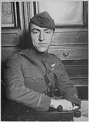German Village - Capt. Eddie Rickenbacker, a World War I hero from the Columbus German-American community