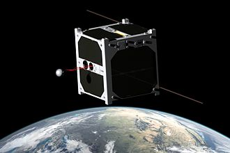 Satellite - 1U CubeSat ESTCube-1, developed mainly by the students from the University of Tartu, carries out a tether deployment experiment in low Earth orbit.