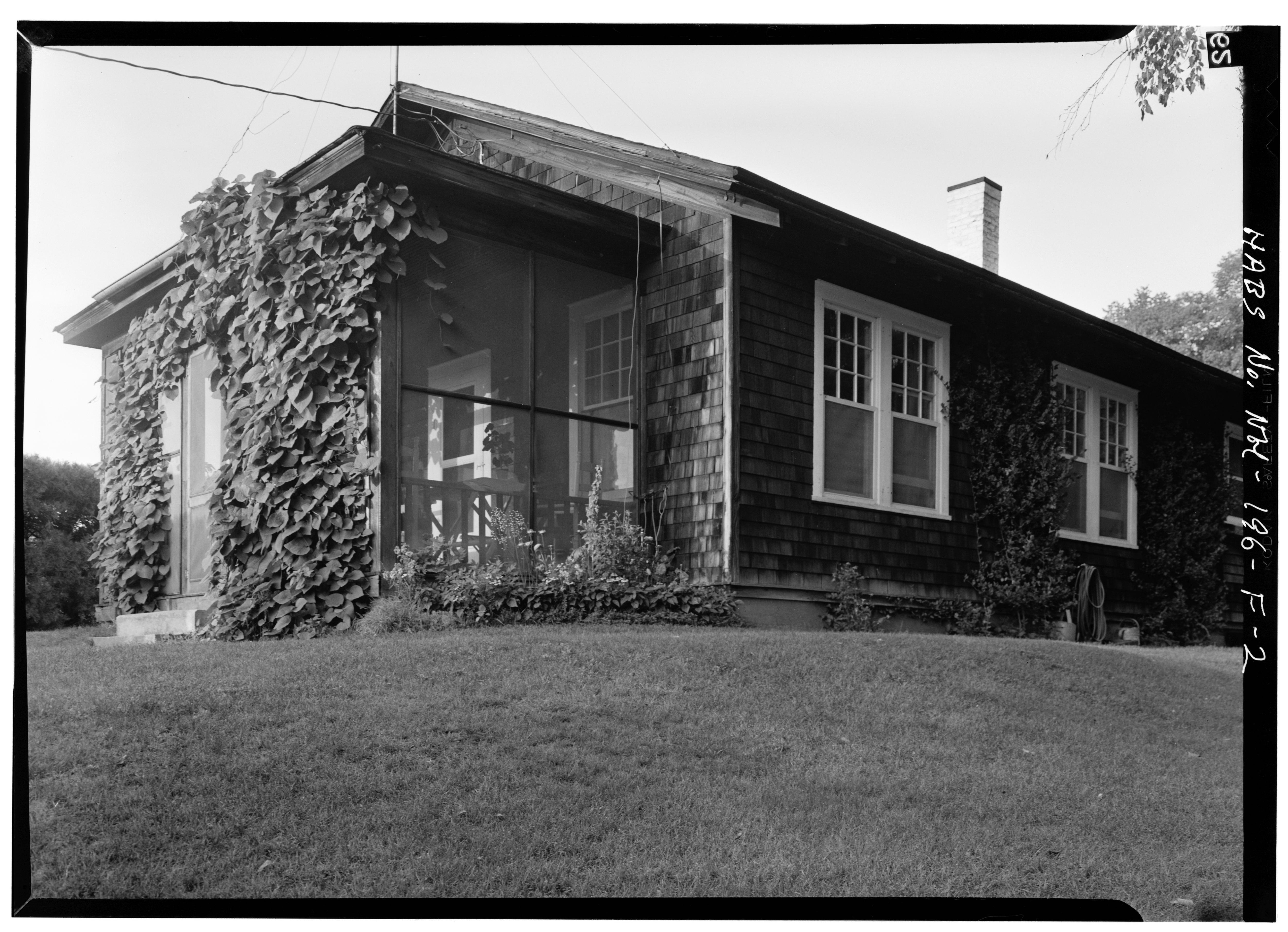file exterior from southwest cottage augustus saint gaudens national historic site. Black Bedroom Furniture Sets. Home Design Ideas