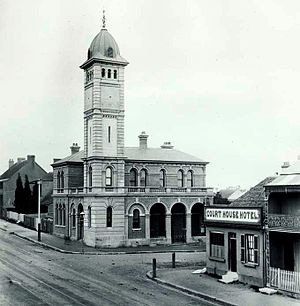 Redfern, New South Wales - Redfern Post Office, early 1890s