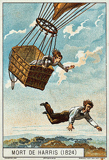 Thomas Harris (aviator) English balloonist