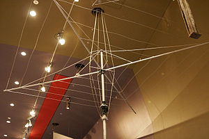 Hills Hoist - An early model found in the National Museum