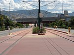 East along tracks from Jackson-Euclid station, Aug 15.jpg