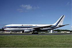 Eastern Air Lines Airbus A300 at St Maarten December 1986.jpg