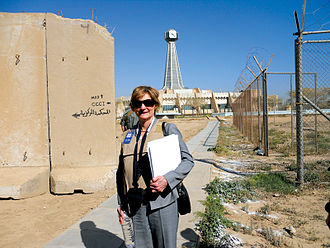 Edith Jones - Image: Edith Jones in Iraq