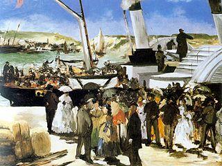 The Folkestone Boat, Boulogne