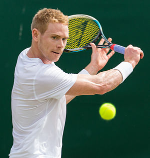 Edward Corrie (tennis) - Image: Edward Corrie 2, 2015 Wimbledon Qualifying Diliff