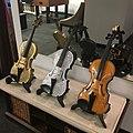 Edward W. Hardy's violins, Three out of Six Violins.jpg