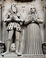 Effigy of Johan II of Pfalz-Simmern and Beatrix of Baden (Johan and Beatrix).jpg