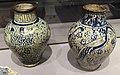 Egitto, vaso balaustra con gru e con gazzella, XIV sec.JPG