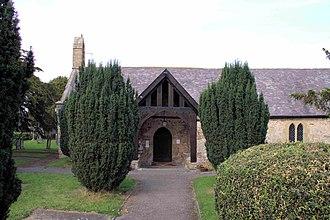 Tremeirchion - Image: Eglwys Corpus Christi, Tremeirchion Sir Ddinbych Church Denbighshire, North Wales 20