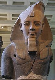 Busto de Ramsés IIMuseo Británico