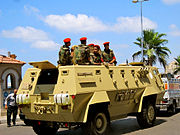 Egyptian Military Police in Alexandria