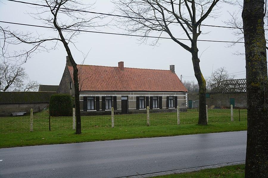 Boerenhuis, Eindeken 11, Kaprijke