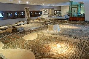 Eirene Residence (Plovdiv) - Image: Eirene mosaics 3