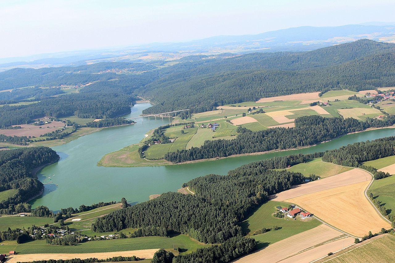 Stausee Eixendorf