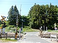 Ejima Level Crossing, in Toyokawa, Aichi (2018-04-29).jpg