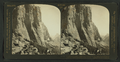 El Capitan (7012 ft.), looking up the Valley of Half Dome (8927 ft.), Yosemite Valley, Cal., U.S.A, by H.C. White Co..png