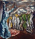 Figurative Painting of El Greco