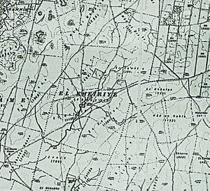 Al-Khayriyya - El Kheiriye from 1932 map, 1:20,000