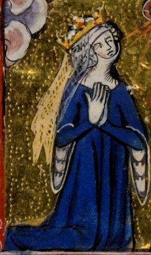Eleanor of Woodstock - Eleanor at prayer